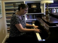 Harriet Kaplan performs Bach's prelude and Fugue in G sharp minor, No.18 from Well-Tempered Clavier, Book 1.