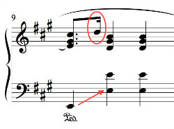 Chopin_Prelude_A_Major_measure